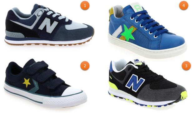 Sneakers tendances pour enfants