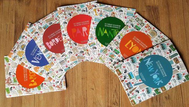 Carnet de voyage pour enfants et parents