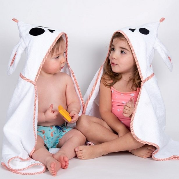 cape de bain pour enfant
