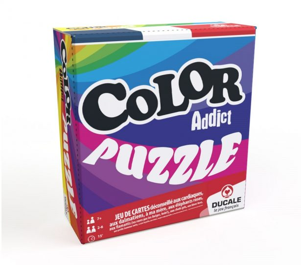 Le jeu Color Addict est de retour dans sa version Puzzle !