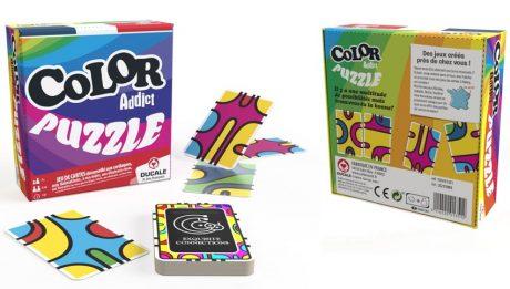 Color Addict est de retour dans sa version Puzzle !